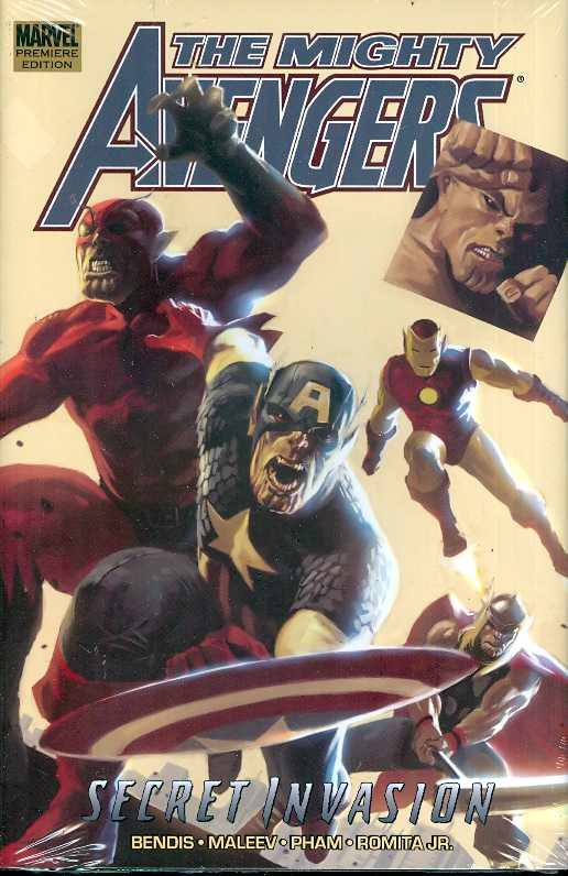MIGHTY AVENGERS PREM HC VOL 03 SECRET INVASION BOOK 01