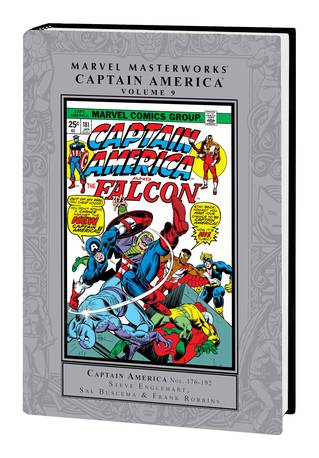 MMW CAPTAIN AMERICA HC VOL 09