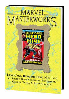 MMW LUKE CAGE HERO FOR HIRE HC VOL 01 DM VAR ED 222 ***OOP***