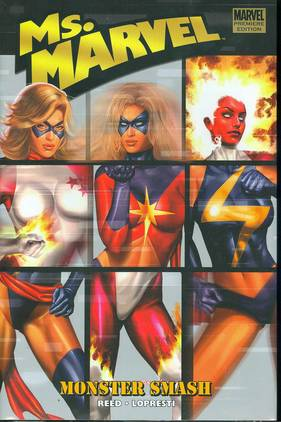 MS MARVEL PREM HC VOL 04 MONSTER SMASH ***OOP***