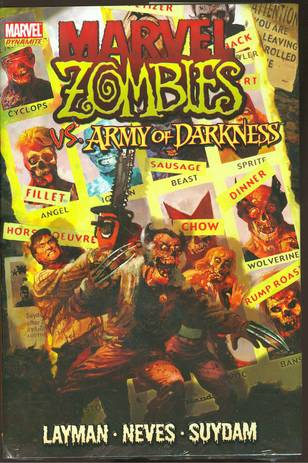"""MARVEL ZOMBIES ARMY OF DARKNESS HC """"""""""""OOP"""""""""""""""