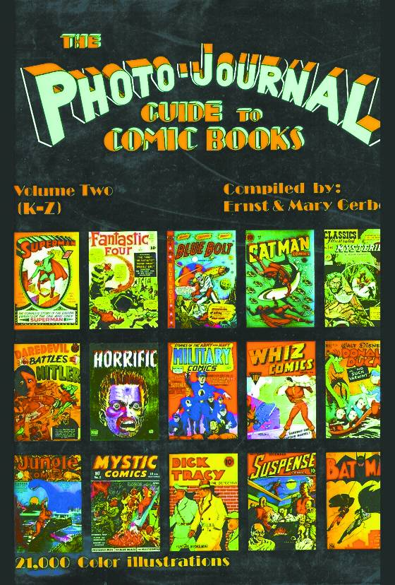 PHOTO-JOURNAL GUIDE TO COMICS VOL II K-Z