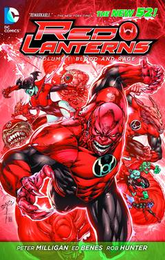 RED LANTERNS TP VOL 01 BLOOD AND RAGE
