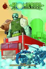 ATOMIC ROBO TP VOL 06 GHOST OF STATION X ***OOP***