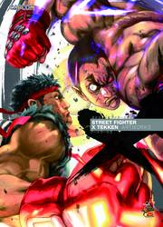 STREET FIGHTER X TEKKEN ARTWORKS SC