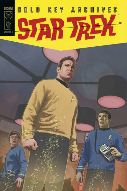 STAR TREK GOLD KEY ARCHIVES HC VOL 04