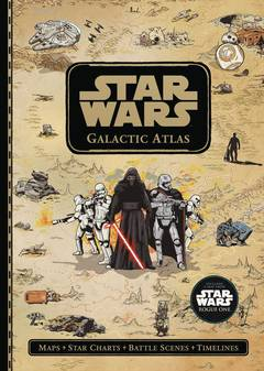 STAR WARS GALACTIC MAPS ILLUSTRATED ATLAS SW UNIVERSE HC