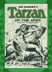 JOE KUBERT TARZAN OF THE APES ARTIST ED HC