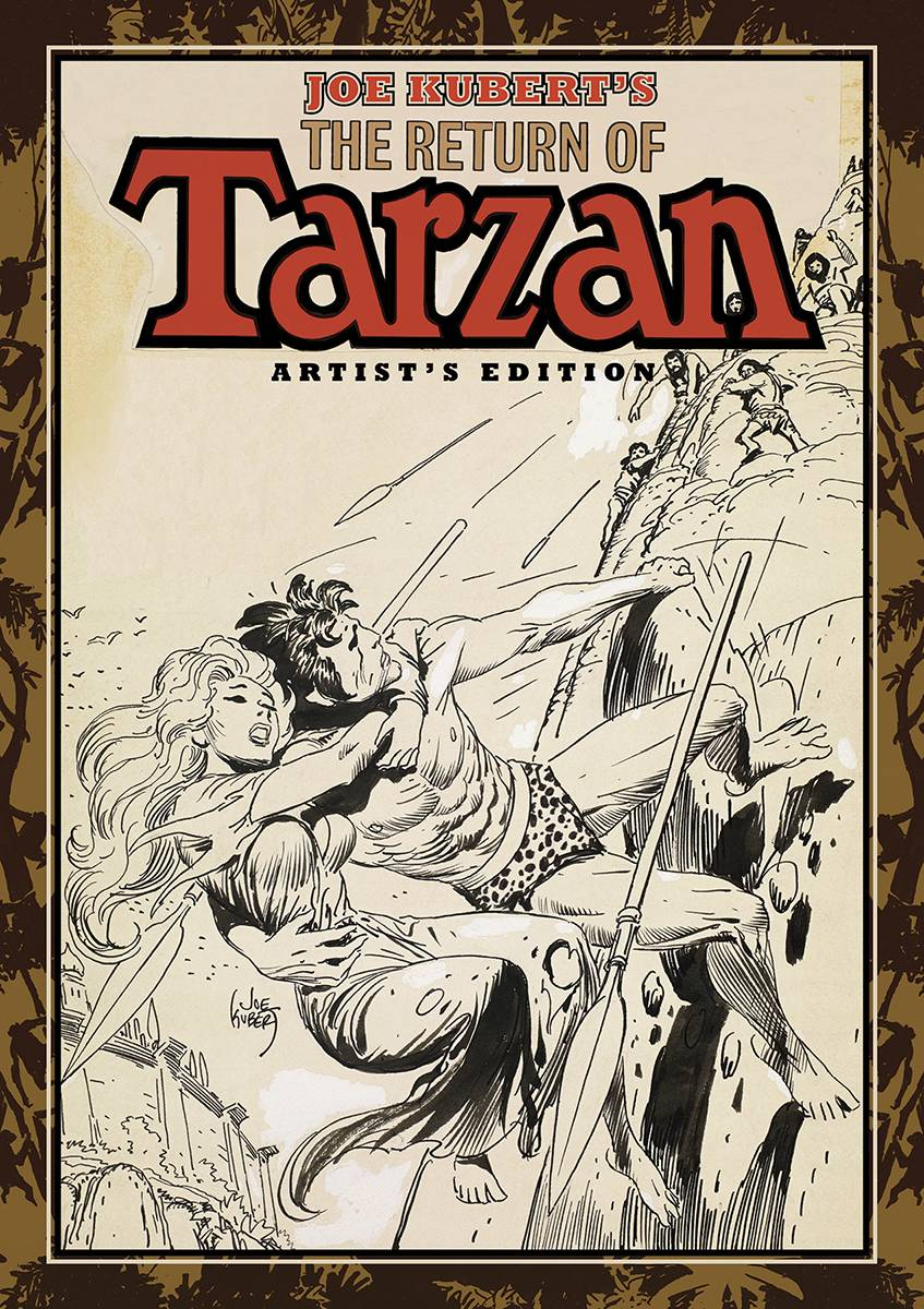 JOE KUBERT RETURN OF TARZAN ARTIST ED HC