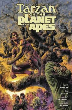 TARZAN ON PLANET OF APES TP