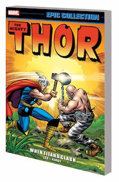THOR EPIC COLLECTION TP WHEN TITANS CLASH