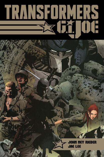 TRANSFORMERS GI JOE TYRANTS RISE HEROES ARE BORN TP