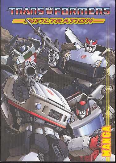 TRANSFORMERS INFILTRATION MANGA TP