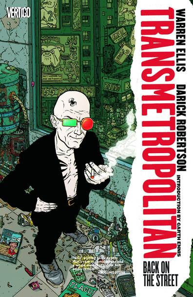TRANSMETROPOLITAN TP VOL 01 BACK ON THE STREET NEW PRINTING