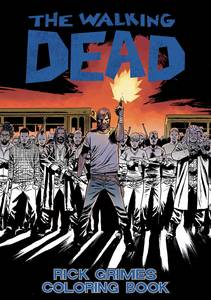 WALKING DEAD RICK GRIMES ADULT COLORING BOOK