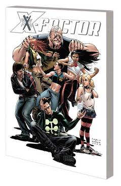 X-FACTOR BY PETER DAVID TP VOL 02 COMPLETE COLLECTION