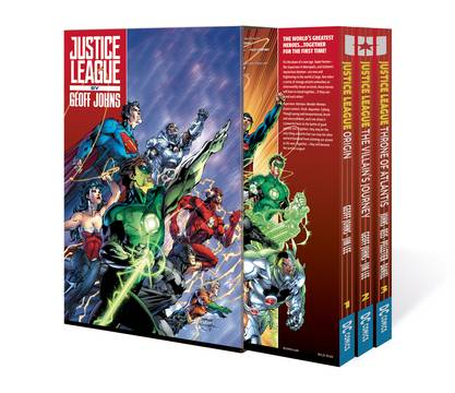 JUSTICE LEAGUE BY GEOFF JOHNS BOX SET VOL 01