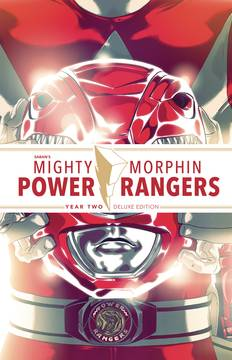 MIGHTY MORPHIN POWER RANGERS DLX HC YEAR TWO ***OOP***