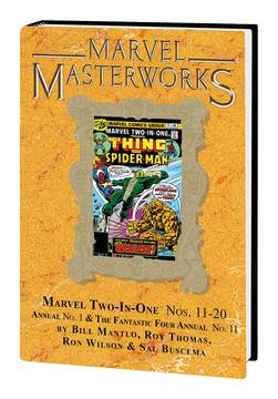 MMW MARVEL TWO IN ONE HC VOL 02 DM VAR ED 249