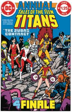 NEW TEEN TITANS THE JUDAS CONTRACT DLX ED HC