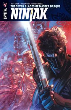 NINJAK TP VOL 06 THE SEVEN BLADES OF MASTER DARQUE
