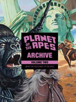 PLANET OF APES ARCHIVE HC VOL 02 BEAST ON PLANET OF APES ***OOP***