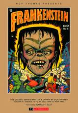 ROY THOMAS PRESENTS BRIEFER FRANKENSTEIN HC 1948-52