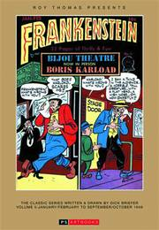ROY THOMAS PRESENTS BRIEFER FRANKENSTEIN HC 1948