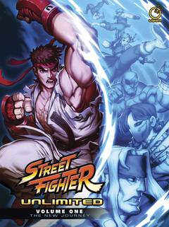 STREET FIGHTER UNLIMITED HC VOL 01 NEW JOURNEY