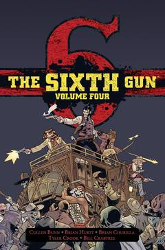 THE SIXTH GUN DLX HC VOL 04