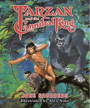 TARZAN AND THE CANNIBAL KING HC