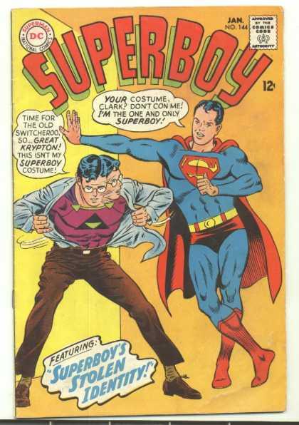 Superboy #144 (F+)