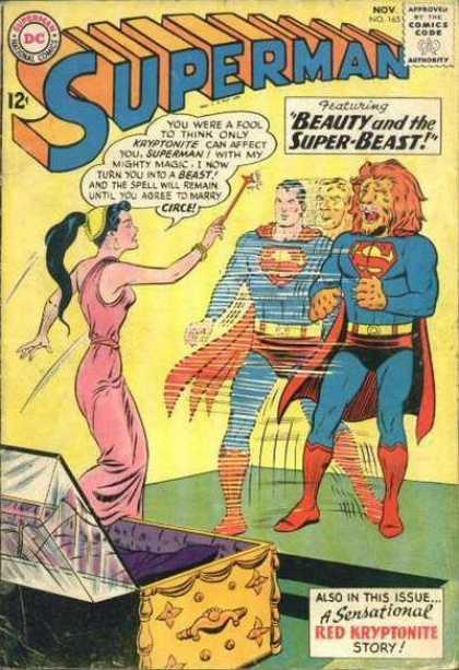 Superman #165 (F-)