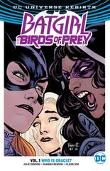 THE BIRDS OF PREY TP VOL 01 WHO IS ORACLE (REBIRTH