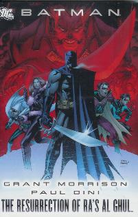 BATMAN THE RESURRECTION OF RAS AL GHUL HC ***OOP***