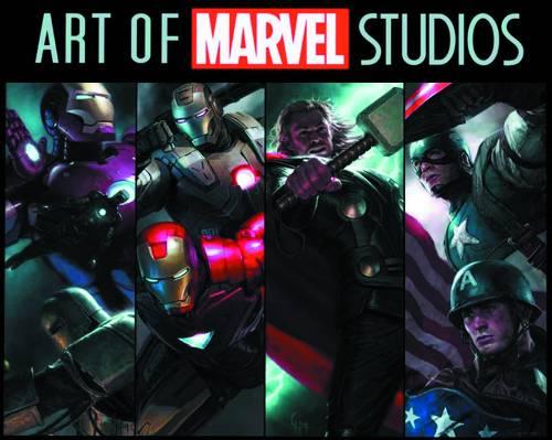 ART OF MARVEL STUDIOS TP SLIPCASE