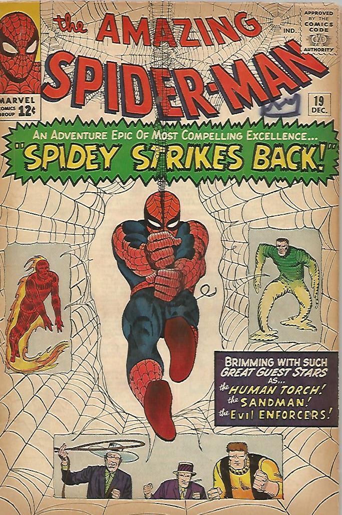 Amazing Spider-Man # 19 (VG/F)
