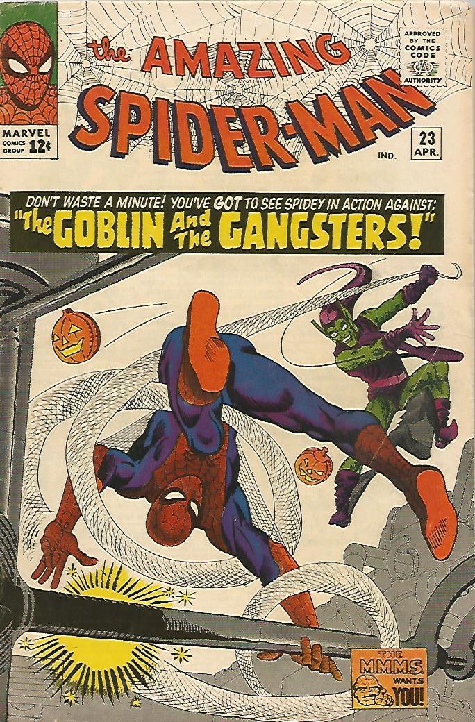 Amazing Spider-Man # 23 (VG/F)