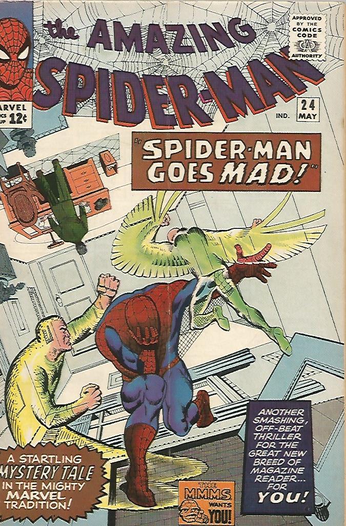 Amazing Spider-Man # 24 (F)