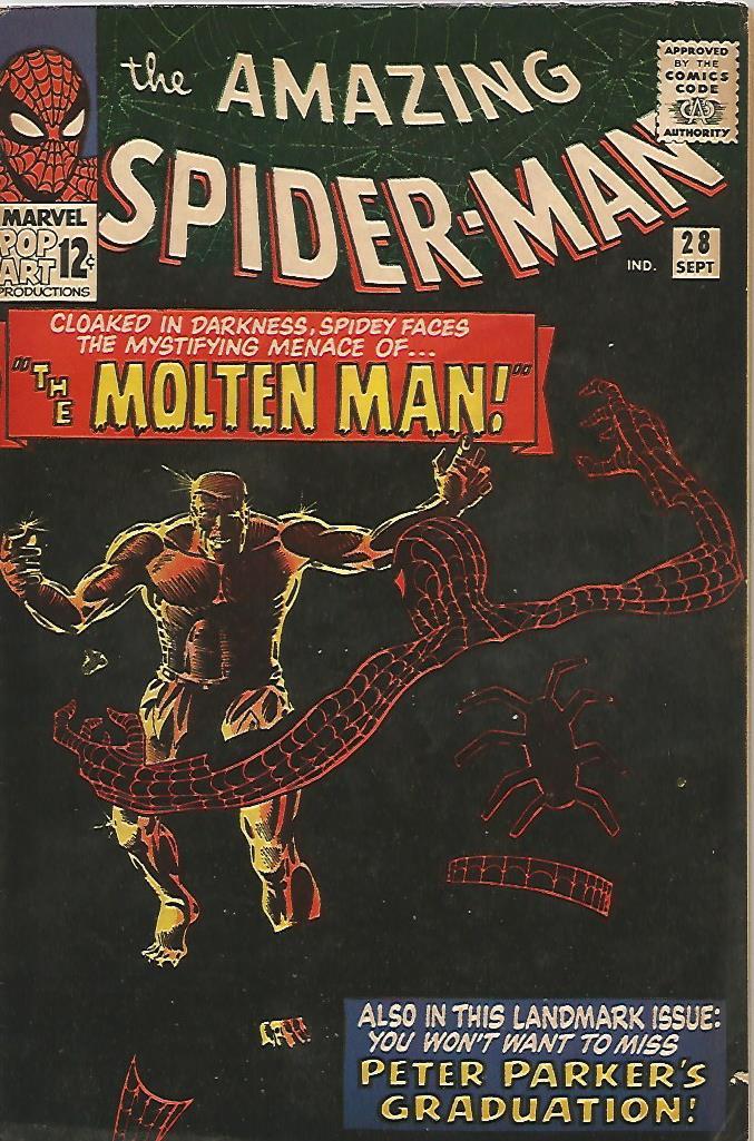 Amazing Spider-Man # 28 (F+)
