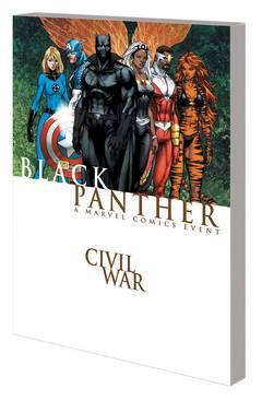CIVIL WAR BLACK PANTHER TP NEW PTG