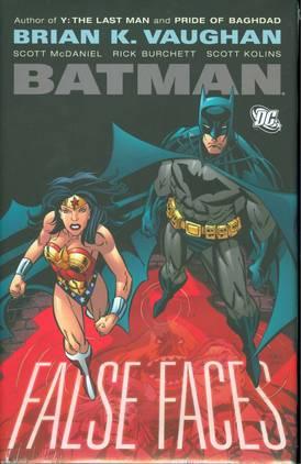 BATMAN FALSE FACES HC ***OOP***