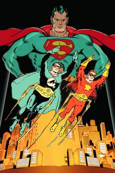 SUPERMAN ADVENTURES OF FLAMEBIRD & NIGHTWING TP