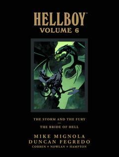 HELLBOY LIBRARY HC VOL 06 (Ever So Slight Damaged Corner)