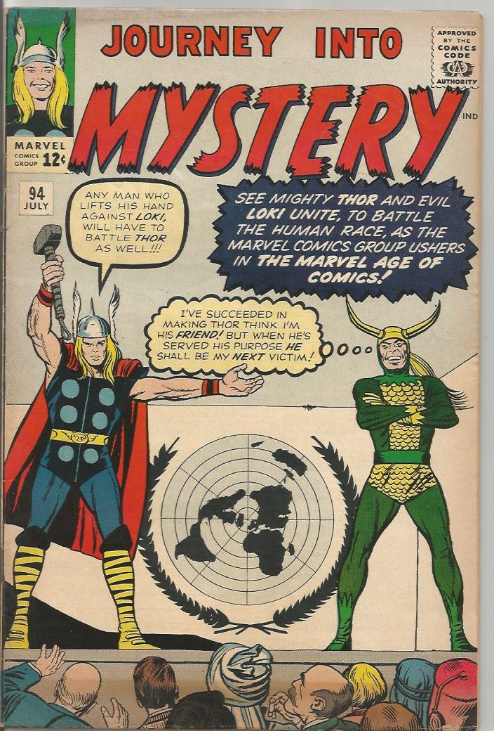 Journey Into Mystery # 94, July 1963 (F/VF)