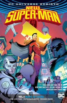 NEW SUPER MAN TP VOL 01 MADE IN CHINA (REBIRTH)