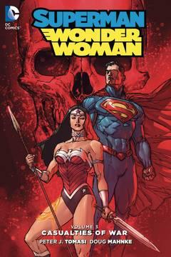 SUPERMAN WONDER WOMAN TP VOL 03 CASUALTIES OF WAR