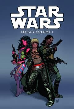 STAR WARS LEGACY HC VOL 01 ***OOP***