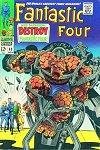 Fantastic Four # 68 (F+)