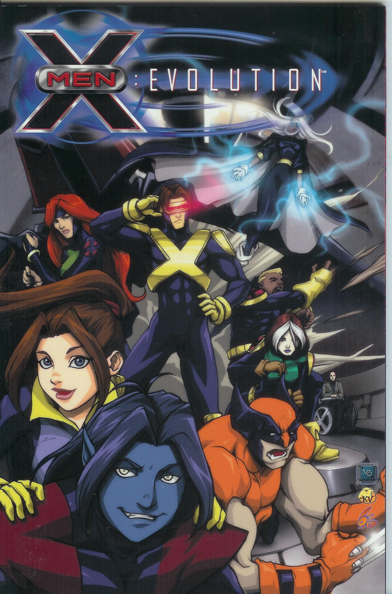 X-Men – Evolution Vol 1digest